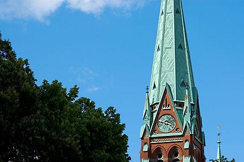image 5-720-7515 Sweden, Stockholm, Church steeple