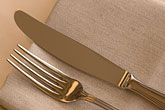 flatware stock photography | Still life, Knife and fork, image id 5-720-7553