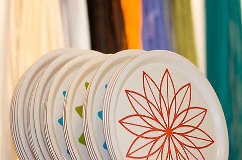 image 5-720-7619 Sweden, Stockholm, Designtorget store, plates