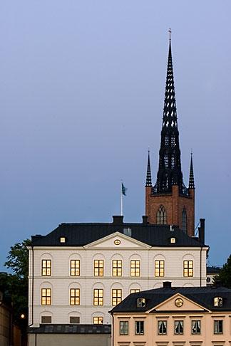 image 5-720-7892 Sweden, Stockholm, Riddarholmen church