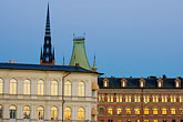 illuminated stock photography | Sweden, Stockholm, Riddarholmen, image id 5-720-7907