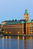 night stock photography | Sweden, Stockholm, Riddarholmen, image id 5-720-7910