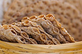 basket stock photography | Food, Rye cracker crispbread, image id 5-730-3645