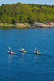 canoes stock photography | Sweden, Grinda Island, Kayaking, image id 5-730-3701