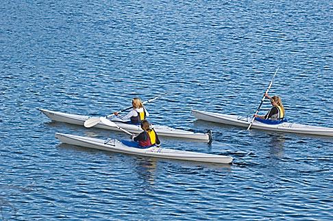 image 5-730-3712 Sweden, Grinda Island, Kayaking