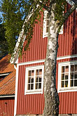 red stock photography | Sweden, Grinda Island, Red summer house, image id 5-730-3760