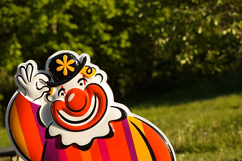image 5-730-6226 Sweden, Grinda Island, Clown