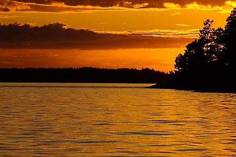 image 5-730-6331 Sweden, Grinda Island, Sunset