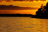 lakeside stock photography | Sweden, Grinda Island, Sunset, image id 5-730-6331