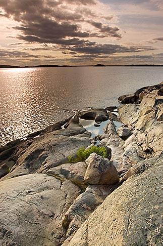 image 5-730-6459 Sweden, Grinda Island, Rocky shoreline