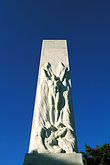 statue stock photography | Texas, San Antonio, Memorial to Heroes of Texas Independence, Alamo Plaza, image id 1-700-11