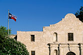 flag stock photography | Texas, San Antonio, The Alamo, image id 1-700-69