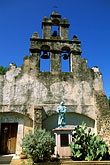 old san juan stock photography | Texas, San Antonio, Mission San Juan Capistrano, image id 1-701-27