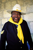 hat stock photography | Texas, San Antonio, Institute of Texas Cultures, Buffalo Soldier, image id 1-702-12
