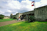 fortress stock photography | Texas, Goliad, Presidio la Bah�a, image id 1-720-43