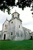 church tower stock photography | Texas, Goliad, Mission Espiritu Santo de Zuniga, image id 1-720-87