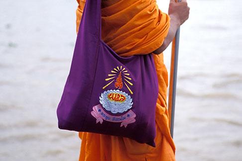 image 0-350-16 Thailand, Bangkok, Buddhist monk
