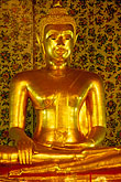 seated stock photography | Thailand, Bangkok, Buddha, Wat Sam Phraya, image id 0-350-2