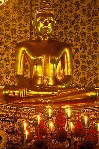 image 0-350-9 Thailand, Bangkok, Buddha, Wat Sam Phraya