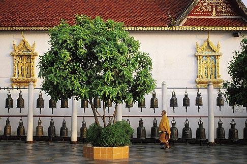 image 0-360-25 Thailand, Chiang Mai, Wat Phra That Doi Suthep