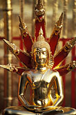 golden buddhas stock photography | Thailand, Chiang Mai, Golden Buddha, Wat Phra That Doi Suthep, image id 0-360-68