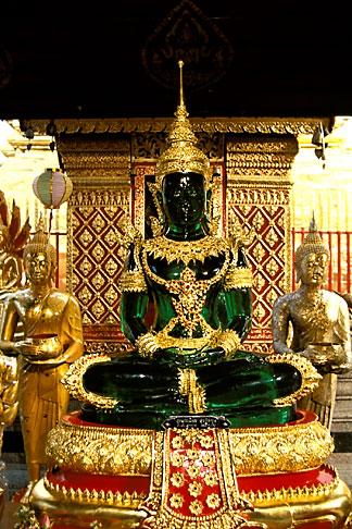 image 0-361-32 Thailand, Chiang Mai, Jade Buddha, Wat Phra That Doi Suthep