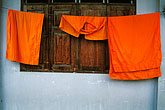clothes drying stock photography | Thailand, Chiang Mai, Wat Phra Sing, monks