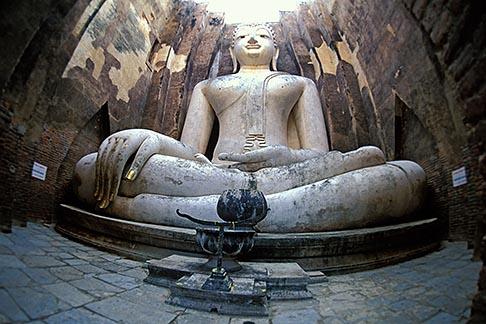 image 0-380-68 Thailand, Sukhothai, Phra Achana, Wat Si Chum