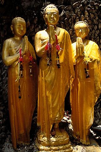 image 4-196-21 Thailand, Bangkok, Buddha statues, Golden Mount