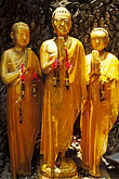 monks praying stock photography | Thailand, Bangkok, Buddha statues, Golden Mount, image id 4-196-22