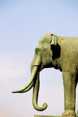 art stock photography | Thailand, Bangkok, Elephant statue, Grand Palace, image id 4-198-51