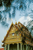 temple roof stock photography | Thailand, Bangkok, Temple, Nonthaburi, image id 7-513-13