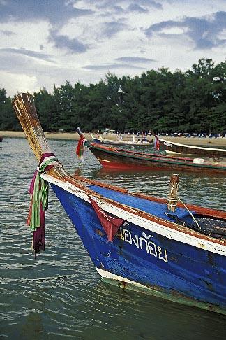 image 7-522-23 Thailand, Phuket, Fishing boat