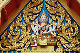 horizontal stock photography | Thailand, Phuket, Carving, Wat Cha Long, image id 7-529-36