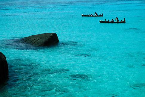 image 7-534-34 Thailand, Surin Islands, Sea Gypsies off Ko Surin Tai