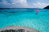 pink sky stock photography | Thailand, Similan Islands, Sailing, image id 7-542-12