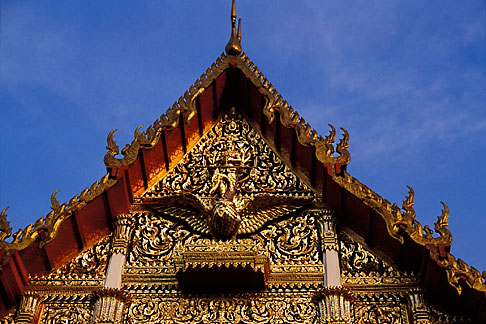 image S3-101-12 Thailand, Bangkok, Wat Rajaburana
