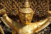 gold stock photography | Thailand, Bangkok, Garuda, Wat Pra Keo, image id S3-101-8