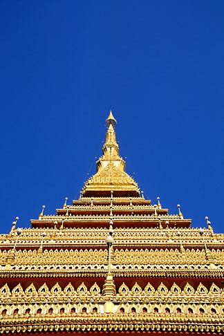 image S3-103-3 Thailand, Khon Kaen, Wat Nongwang