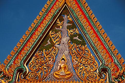 image S3-104-1 Thailand, Nong Khai, Temple Detail