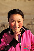 only teenage girls stock photography | Tibet, Tibetan girl, Labrang Monastery, Xiahe, image id 4-119-36