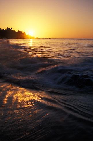 image 8-31-3 Tobago, Sunset, Grafton Beach