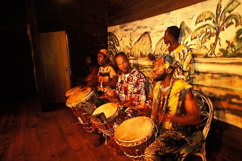 image 8-34-7 Tobago, Drummers, Arnos Vale