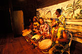 stage stock photography | Tobago, Drummers, Arnos Vale, image id 8-34-7
