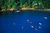 island stock photography | Tobago, Fishing boats, Parlatuvier Bay, image id 8-44-35