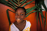 funny face stock photography | Tobago, Young girl, Canaan, image id 8-56-35