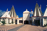 courtyard stock photography | Trinidad, Port of Spain, Pashimtaashi Hindu Mandir, Hindu temple, image id 8-13-7