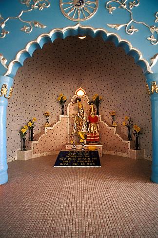 image 8-13-8 Trinidad, Port of Spain, Pashimtaashi Hindu Mandir, Hindu temple