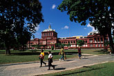red house parliament stock photography | Trinidad, Port of Spain, Red House Parliament, Woodford Square, image id 8-14-32