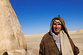 one man only stock photography | Tunisia, Tozeur, Onk Jemal, Star Wars set, guardian, image id 3-1100-112